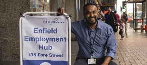 Helping Enfield residents get back into work