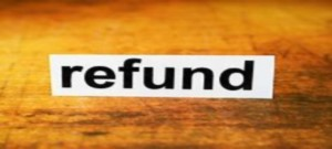refund sign